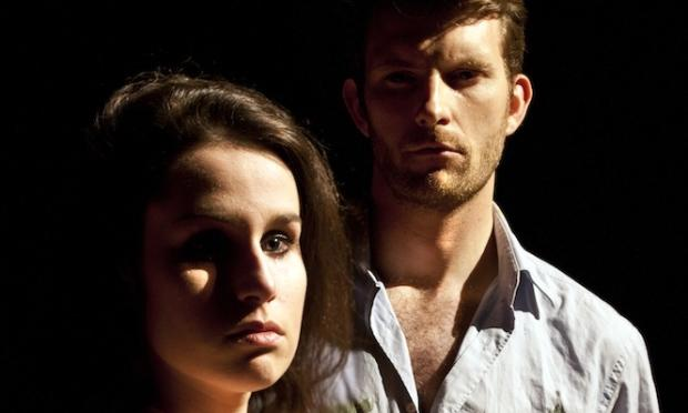 Photograph from On The Permanence Of Fugitive Colours - lighting design by Max Blackman