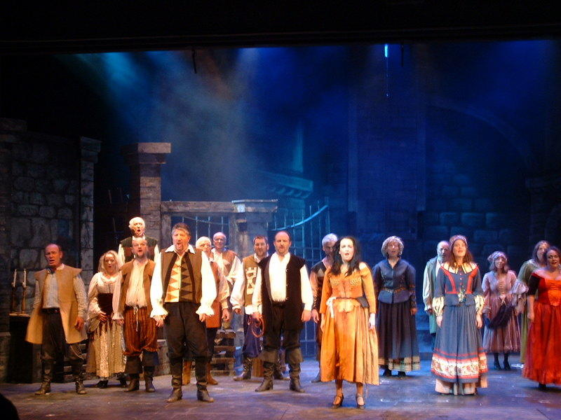 Photograph from Man Of Lamancha - lighting design by Pete Watts
