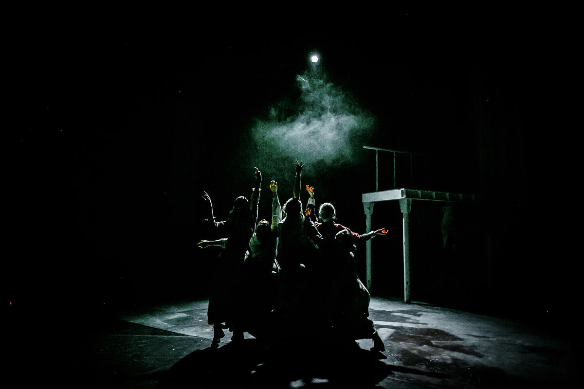 Photograph from The Gut Girls - lighting design by abi_turner