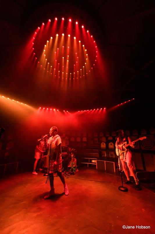 Photograph from Parakeet - lighting design by Sherry Coenen