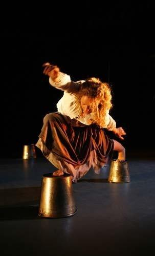 Photograph from Below - lighting design by Alex Wardle