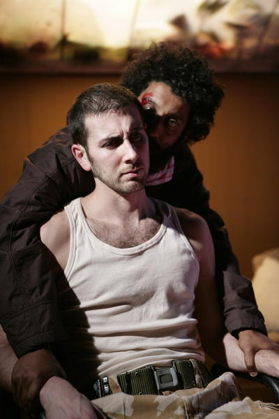 Photograph from In My Name - lighting design by Richard Williamson