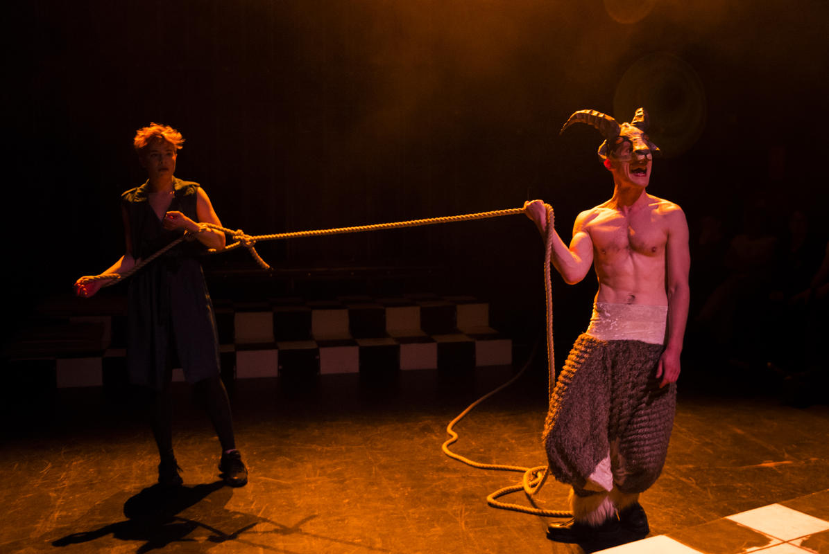 Photograph from The Wonderful World of Dissocia - lighting design by Jamie Platt