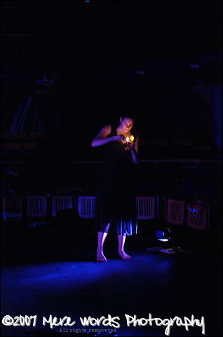 Photograph from Euridice [Underglass] - lighting design by Christopher Withers