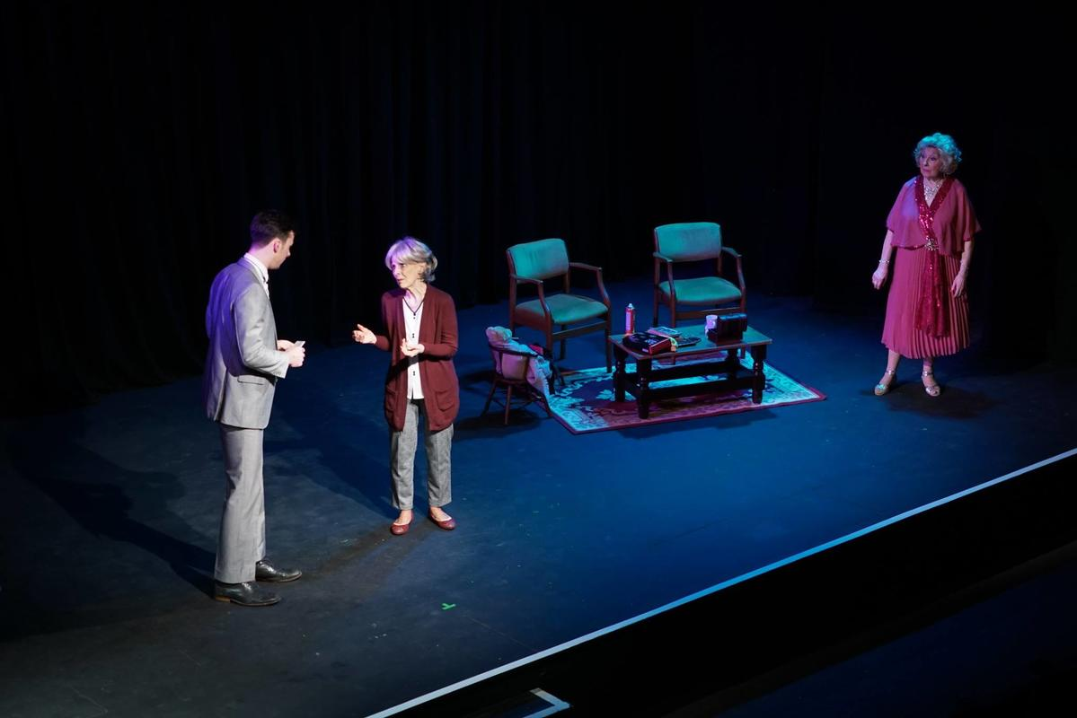 Photograph from Bothered and Bewildered - lighting design by HeleneSmithLx