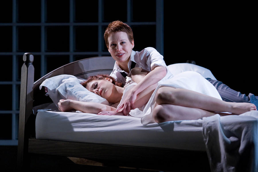 Photograph from The Rape of Lucretia - lighting design by Katharine Williams