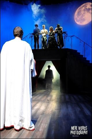 Photograph from The Master and Margarita - lighting design by Christopher Withers