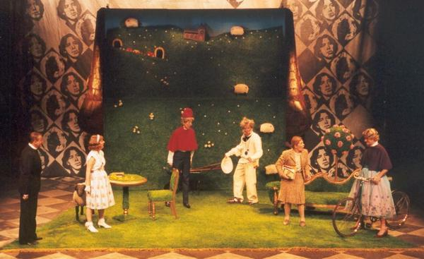 Photograph from The Importance of Being Earnest - lighting design by Ian Saunders