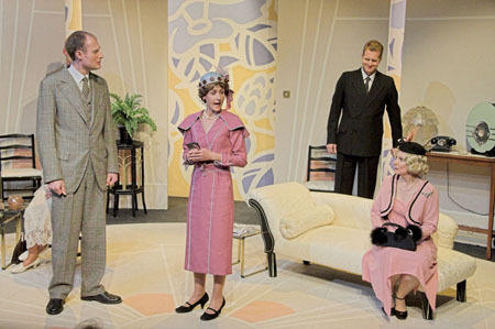 Photograph from The Constant Wife - lighting design by Peter Vincent