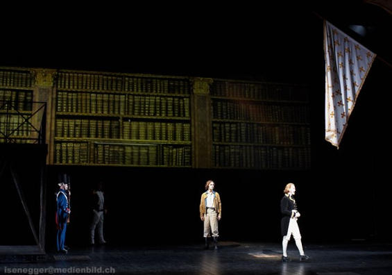 Photograph from Wildhorn's Der Graf von Monte Cristo / Wildhorn's The Count Of Monte Cristo - lighting design by Michael Grundner