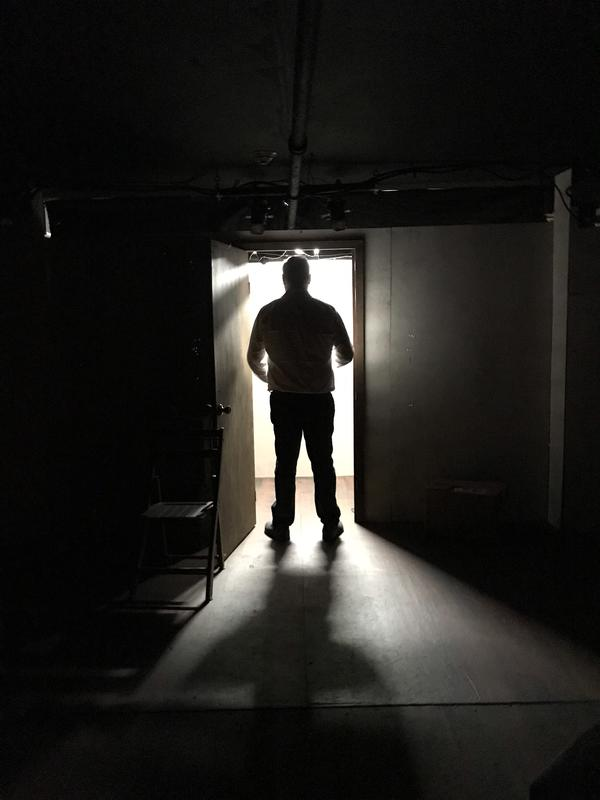 Photograph from The Humans - lighting design by Paul Lennox