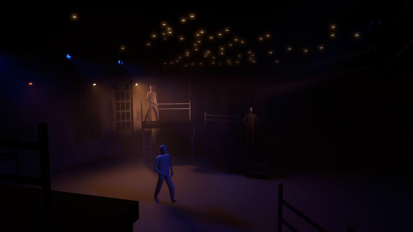 Photograph from Strangers From Within - lighting design by liamaston2699