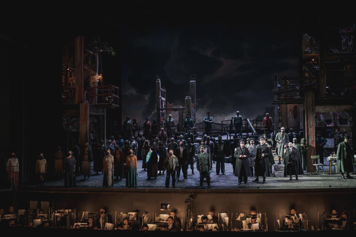 Photograph from Otello - lighting design by GianniBertoli