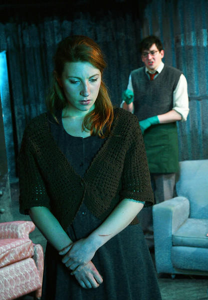 Photograph from Innocence - lighting design by Alex Wardle