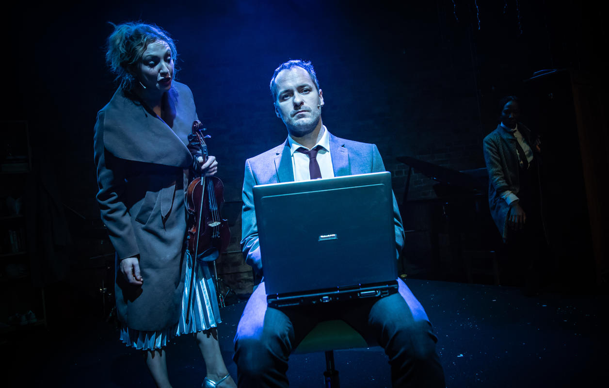 Photograph from Striking 12 - lighting design by Alex Lewer
