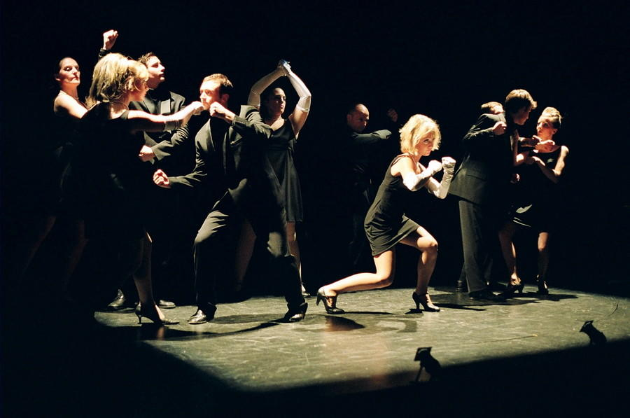 Photograph from Sweet Charity - lighting design by Ben Pickersgill