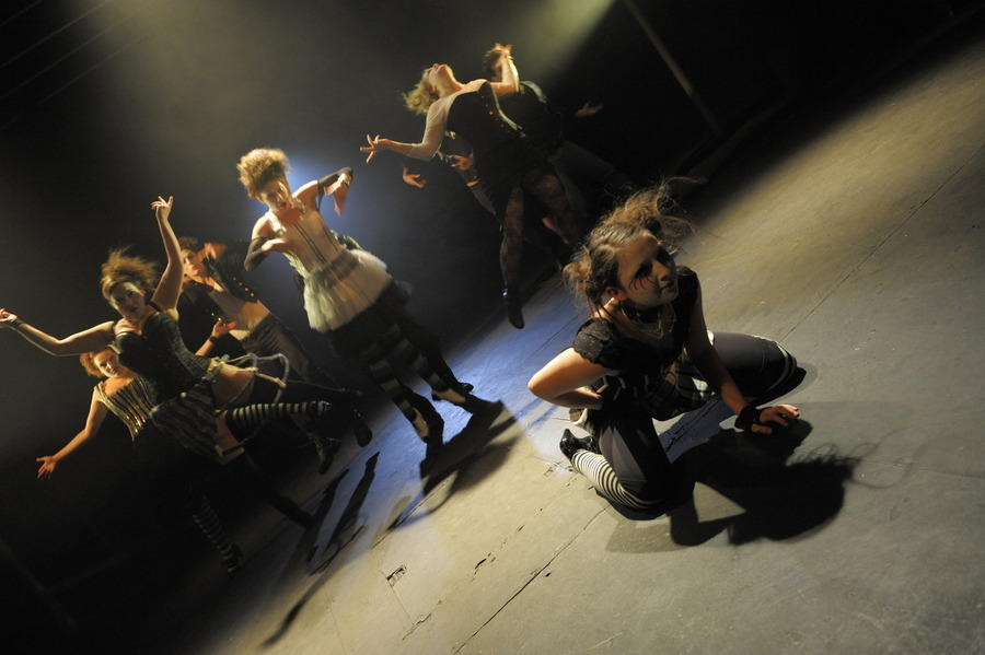 Photograph from The Libertine - lighting design by Ben Pickersgill