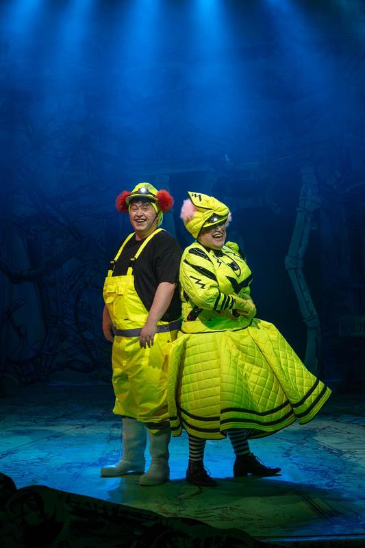 Photograph from Snow White - lighting design by Johnathan Rainsforth