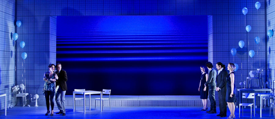 Photograph from Cosi Fan Tutte - lighting design by Jake Wiltshire