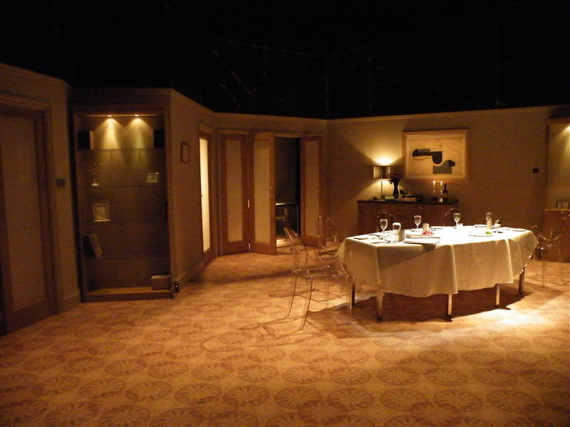 Photograph from Von Ribbentrop's Watch - lighting design by Charlie Lucas