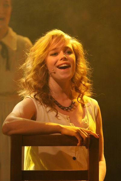 Photograph from Spring Awakening - lighting design by Richard Williamson