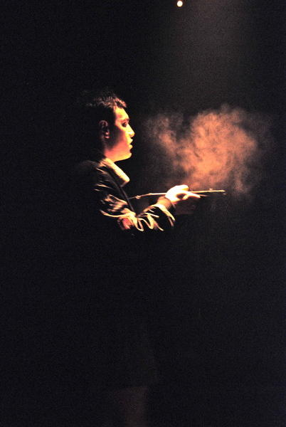 Photograph from A Lie of the Mind - lighting design by Catherine Webb
