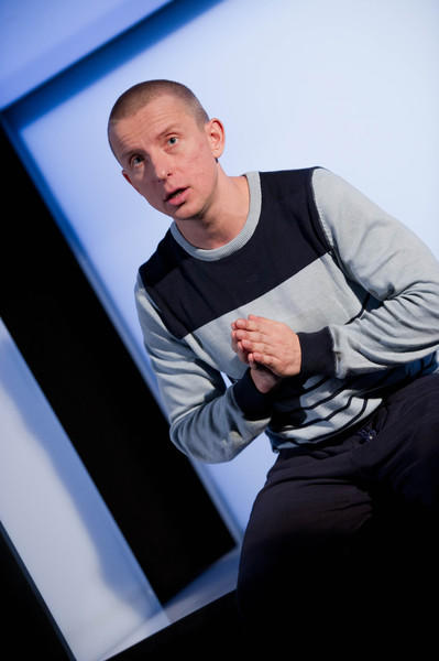 Photograph from Ivan and the Dogs - lighting design by Katharine Williams