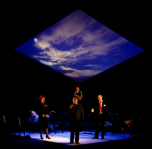 Photograph from Fragments - lighting design by Jake Wiltshire