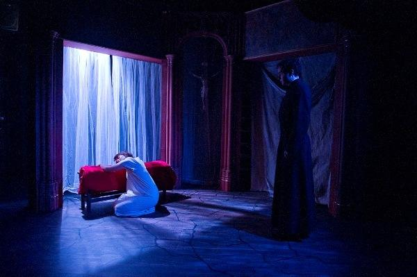 Photograph from Secrets from the Long Grass - lighting design by Edmund Sutton