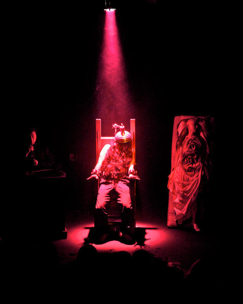 Photograph from A Quickening of The Wax - lighting design by Marty Langthorne