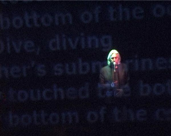 Photograph from And The Shuffle of Things - lighting design by Marty Langthorne