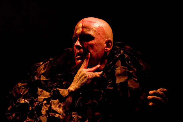 Photograph from Incoruptible Flesh - lighting design by Marty Langthorne