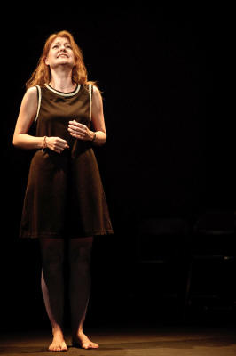 Photograph from When You Hear My Voice - Tim Williams Awards - lighting design by Edmund Sutton