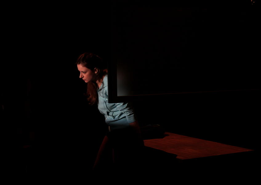Photograph from Invisible - lighting design by Katharine Williams