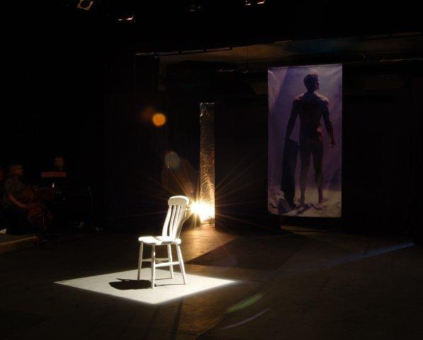Photograph from Elegies for Angels, Punks and Raging Queens - lighting design by Guy Lee