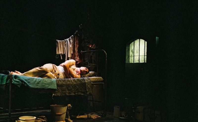 Photograph from Kiss of the Spiderwoman - lighting design by Brendan Albrey
