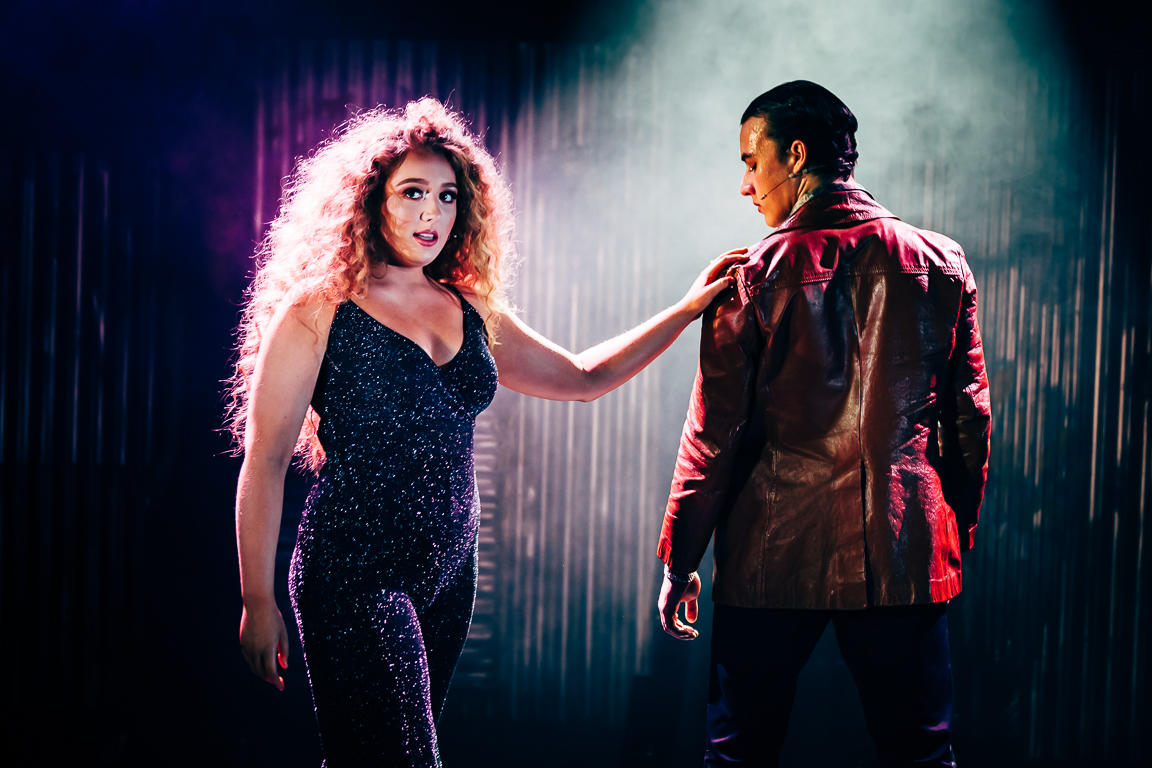Photograph from Saturday Night Fever - lighting design by JacobGowler