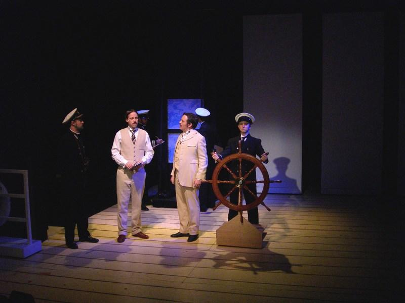 Photograph from Titanic : The Musical - lighting design by Ian Saunders