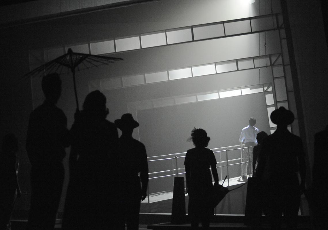Photograph from December Rains - lighting design by Manuel Garrido Freire