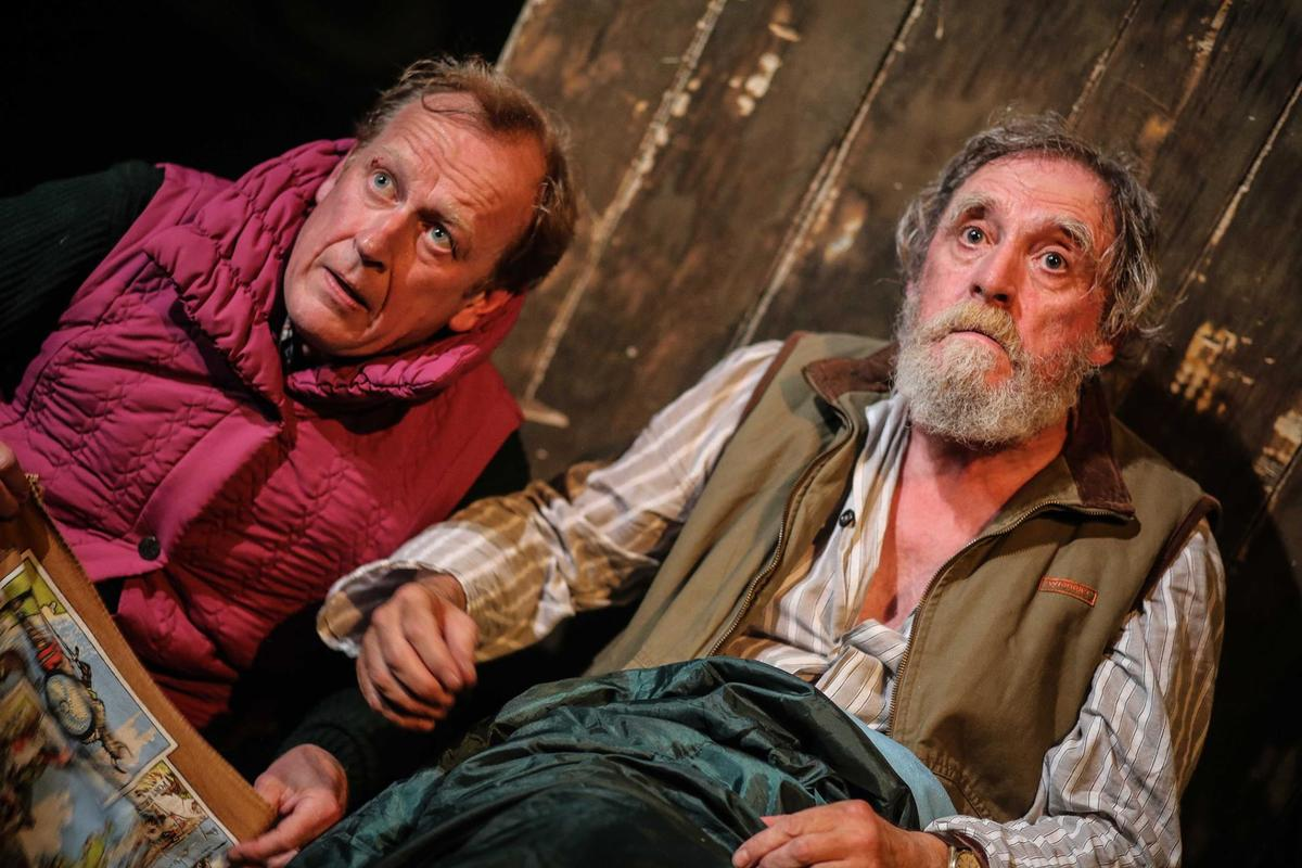 Photograph from And Then Come the Nightjars - lighting design by Chris May