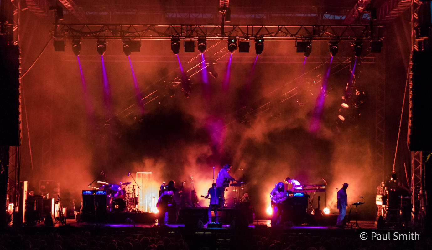 Photograph from Alan Parsons Live Project - lighting design by Paul Smith