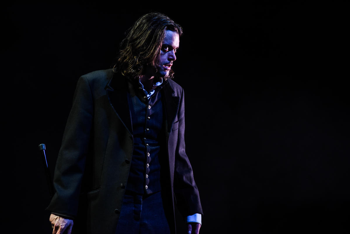 Photograph from The Strange Case of Dr Jekyll & Mr Hyde - lighting design by Claire Childs