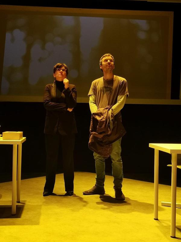 Photograph from Dream, Sleep, Connect - lighting design by James McFetridge