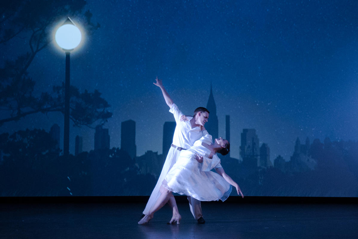 Photograph from Come Dance With Me - lighting design by Callum MacDonald