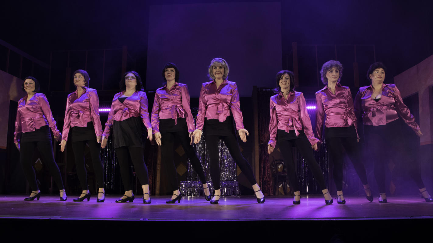 Photograph from Dolly Mixtures The Musical - lighting design by Johnathan Rainsforth