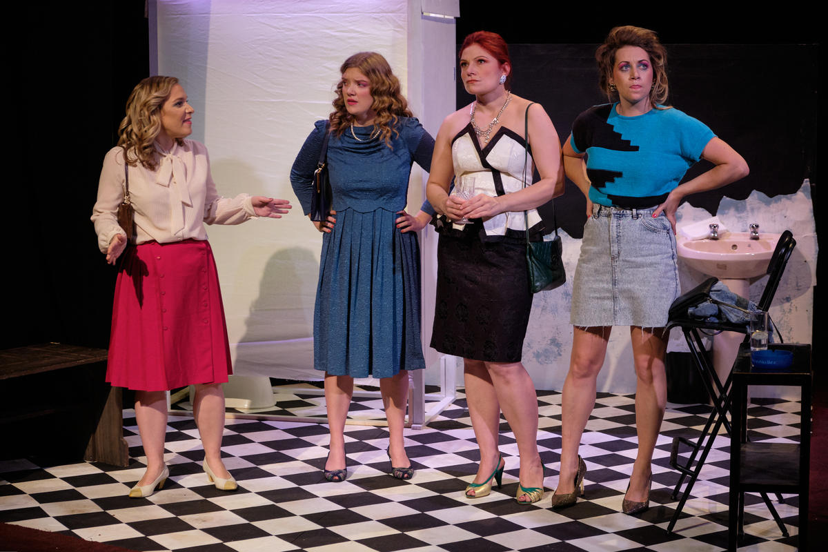 Photograph from Stags and Hens - lighting design by MatthewLofting