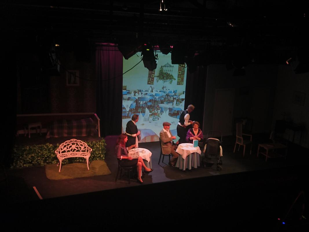 Photograph from Be my Baby - lighting design by HeleneSmithLx