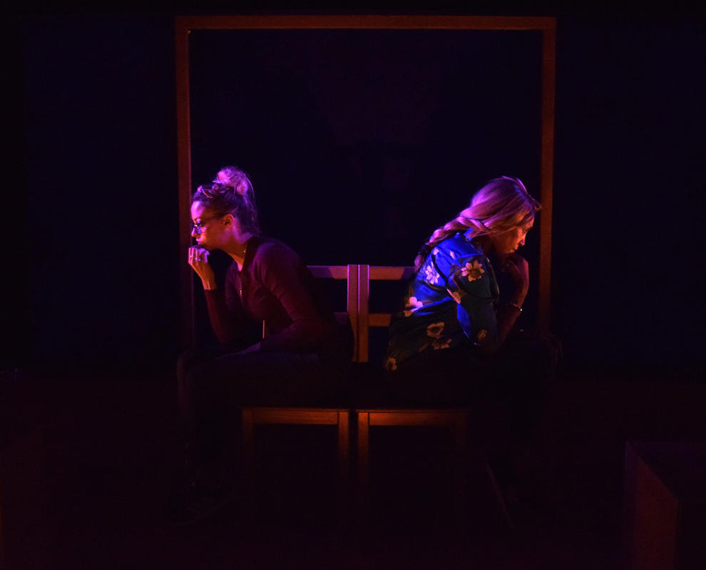 Photograph from Don't Forget the Birds - lighting design by Ali Hunter