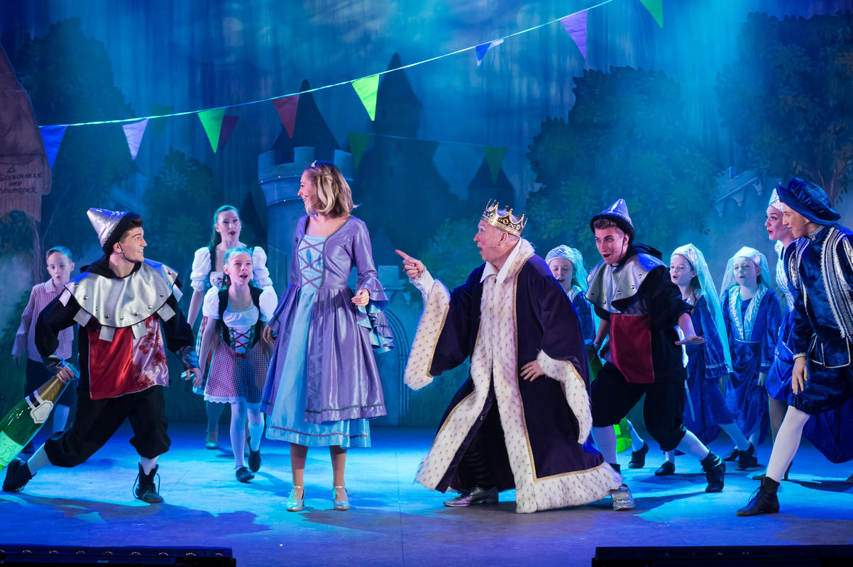 Photograph from Sleeping Beauty - Pantomine - lighting design by Callum MacDonald