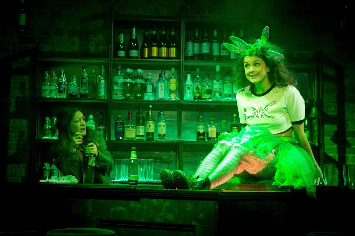Photograph from The Green Fairy - lighting design by Alex Lewer